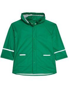 Playshoes Kurtka przeciwdeszczowa 408638 M Zielony Regular Fit