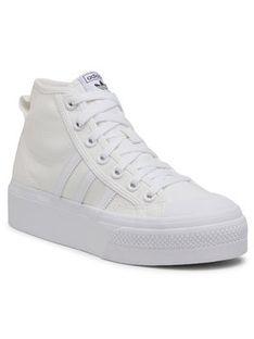 adidas Buty Nizza Platform Mid W FY2782 Biały