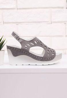Sandały szare 5  Fowler