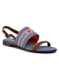 Desigual Sandały Mumbai New Exotic 20SSSA03 Niebieski