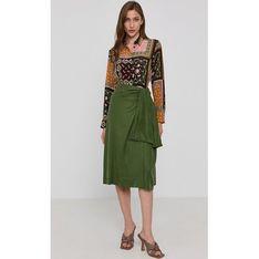 Koszula damska zielona Marella z tkaniny