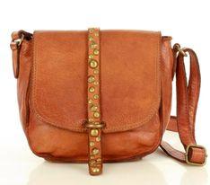 Torebka Listonoszka Saddle Bag dżety- Camel
