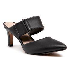 Klapki CLARKS - Illeana Daisy 261582824 Black Leather