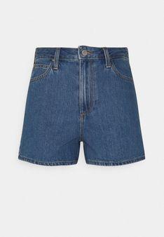 Lee - Szorty jeansowe - niebieski denim