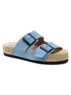 Manebi Espadryle Nordic Sandals M 3.0 R0 Niebieski