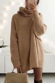 Sweter damski DALBORA BROWN