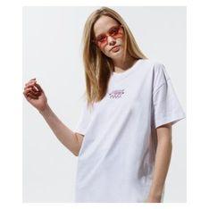 Bluzka damska Vans z krótkim rękawem z okrągłym dekoltem