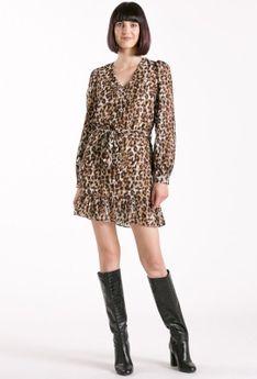 Sukienka ze zwierzęcym motywem
