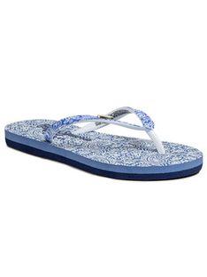 Pepe Jeans Japonki Beach All Over PGS70033 Niebieski