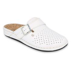 Inblu klapki obuwie damskie  158D175 białe