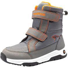 Buty zimowe dziecięce szare Kangaroos