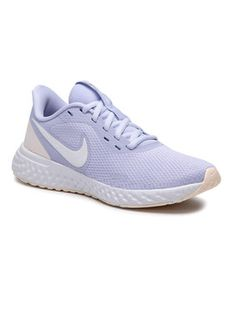 Nike Buty Revolution 5 BQ3207 010 Fioletowy