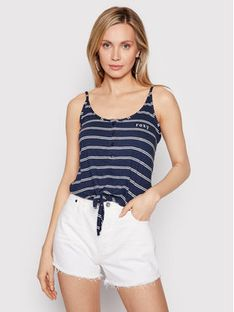 Roxy Top From Me To You ERJZT05178 Granatowy Regular Fit
