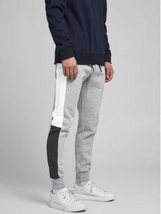 Jack&Jones Spodnie dresowe Will 12197199 Szary Regular Fit