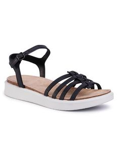 ECCO Sandały Corksphere Sandal 27183302001 Czarny