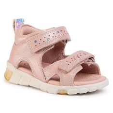 Sandały ECCO - Mini Stride Sandal 76111101118  Rose Dust