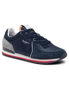 Pepe Jeans Sneakersy Tinker City 21 PMS30728 Granatowy
