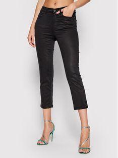 Guess Jeansy Capri W1GB19 W93CD Czarny Skinny Fit