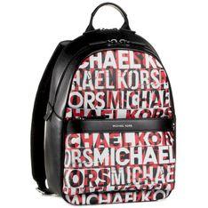 Plecak MICHAEL MICHAEL KORS - Greyson 33U0LGYB2X  Blk/Rc/Rd
