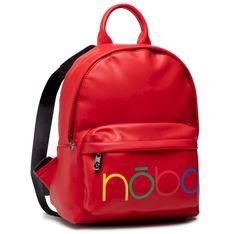 Plecak NOBO - NBAG-K3310-C005 Czerwony