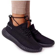 PS1 Damskie Sportowe Buty Sneakersy Czarne Amazing