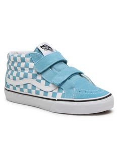 Vans Sneakersy Sk8-Mid Reissue V VN0A346Y30Y1 Niebieski