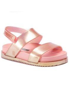 Melissa Sandały Mini Melissa Cosmic Sandal Bb 32332 Różowy