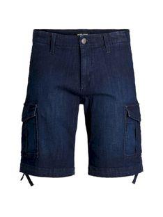 "Jack & Jones ""Charlie Cargo Shorts"" Blue Denim"