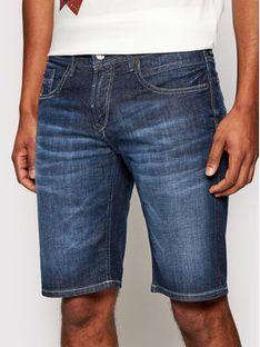 Baldessarini Szorty jeansowe Jamil B1/16916/1273 Granatowy Rgular Fit