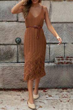 Sukienka AVERDA BROWN