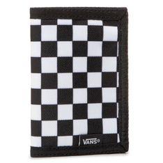 Duży Portfel Męski VANS - Slipped VN000C32HU01  Black/White Che