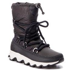Śniegowce SOREL - Kinetic Boot NL3101 Black/White 010