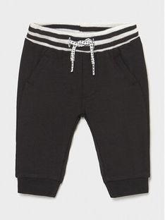 Mayoral Spodnie dresowe 1572 Czarny Regular Fit