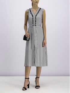 Pennyblack Sukienka codzienna 22210319 Szary Regular Fit