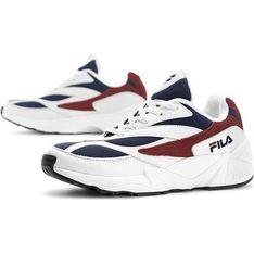 Buty sportowe damskie Fila do biegania na płaskiej podeszwie bez wzorów