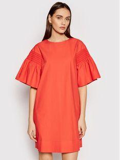 Weekend Max Mara Sukienka codzienna Pacos 52212211 Pomarańczowy Regular Fit