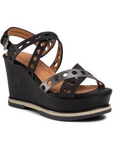 Wrangler Sandały Toledo Jeanies WL01570A Czarny