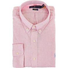Koszula męska Ralph Lauren na wiosnę z kołnierzykiem button down