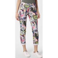 Spodnie damskie Rosner wielokolorowy