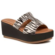 Klapki INUOVO - 123045  Zebra