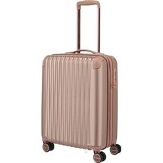 Różowa walizka Titan