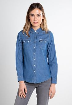 Lee - Koszula - niebieski