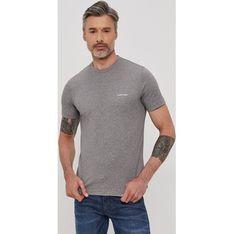 T-shirt męski Calvin Klein z krótkim rękawem na wiosnę