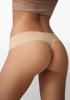 Bezszwowe Stringi Thong Naked Skin Poupee Marilyn