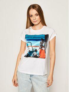 iBlues T-Shirt Dada 79710902200 Biały Regular Fit