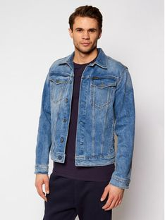 G-Star Raw Kurtka jeansowa 3301 D11150-C052-C293 Niebieski Slim Fit