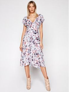 IRO Sukienka letnia Plisca A0145 Kolorowy Regular Fit