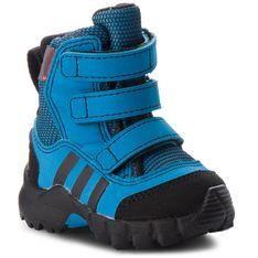 Śniegowce adidas - Cw Holtanna Snow Cf I D97659 Brblue/Cblack/Hireor