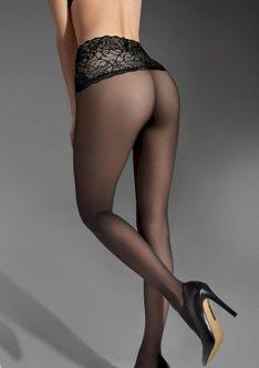 Gładkie rajstopy damskie z wyszczuplającym pasem Lux Line Slim Emotion 30 Marilyn