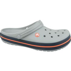 Klapki Crocs Crocband U 11016-01U szare